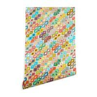 Deny Designs Sharon Turner Varsha Ikat 2-Foot x 4-Foot Peel and Stick Wallpaper