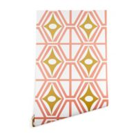 Deny Designs Heather Dutton Metro Fusion 2-Foot x 8-Foot Wallpaper in Pink