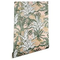 Deny Designs Marta Barragan Camarasa Jungle 2-Foot x 4-Foot Wallpaper in Green