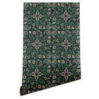 Deny Designs Pimlada Phuapradit Maze 2-Foot x 8-Foot Wallpaper in Emerald