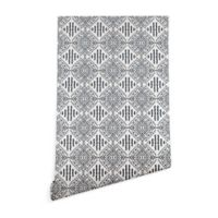 Deny Designs Holli Zollinger Carribe 2-Foot x 4-Foot Wallpaper in Black