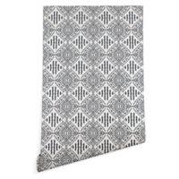 Deny Designs Holli Zollinger Carribe 2-Foot x 10-Foot Wallpaper in Black