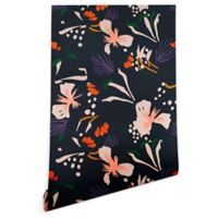 Deny Designs Holli Zollinger Anthology Garden 2-Foot x 4-Foot Peel and Stick Wallpaper