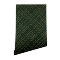 Deny Designs Marta Barragan Camarasa Vintage 2-Foot x 8-Foot Wallpaper in Emerald