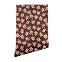 Deny Designs Sharon Turner Sema 2-Foot x 8-Foot Wallpaper in Brown