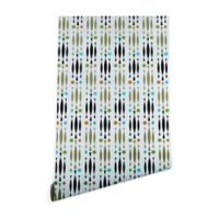 Deny Designs Andi Bird Beatnik 2-Foot x 8-Foot Peel and Stick Wallpaper
