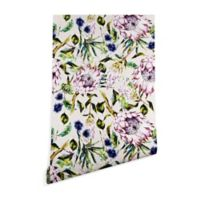 Deny Designs Marta Barragan Camarasa Floral Boho 2-Foot x 8-Foot Peel and Stick Wallpaper