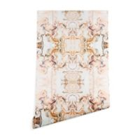 Deny Designs Marta Barragan Camarasa Pink Marble 2-Foot x 10-Foot Peel and Stick Wallpaper