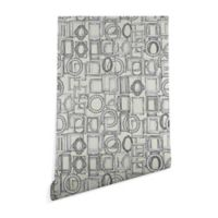Deny Designs Sharon Turner Picture Frames Aplenty 2-Foot x 8-Foot Peel and Stick Wallpaper