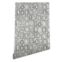 Deny Designs Sharon Turner Picture Frames Aplenty 2-Foot x 10-Foot Peel and Stick Wallpaper