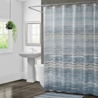 Croscill Nomad Shower Curtain in Blue