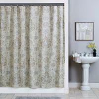 Sariz 54 Inch X 78 Shower Curtain In Pearl