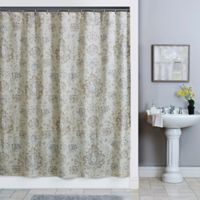 Sariz Shower 72-Inch x 96-Inch Curtain in Pearl