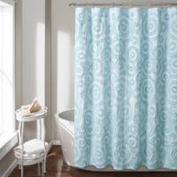 Keila 72-Inch x 96-Inch Shower Curtain in Blue