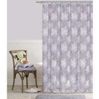 Cabbage Rose 54-Inch x 78-Inch Shower Curtain in Lavender