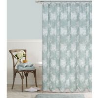 Cabbage Rose 54-Inch x 72-Inch Shower Curtain in Green