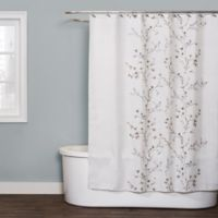 Willows 54-Inch x 78-Inch Shower Curtain in Neutral