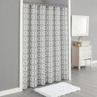Lummi Extra-Long 72-Inch x 72-Inch Shower Curtain in Grey