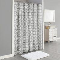 Lummi 72-Inch x 96-Inch Shower Curtain in Grey