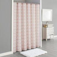 Lummi 72-Inch x 96-Inch Shower Curtain in Blush