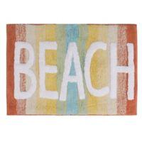 """By the Surf """"Beach"""" 20"""" x 30"""" Bath Mat"""