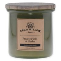 Bee & Willow™ Home Prairie Field & Herb 11 oz. Jar Candle in Green