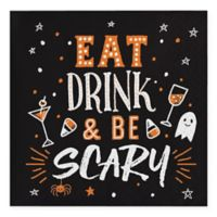 "Creative Converting™ 48-Pack ""Eat Drink and Be Scary"" Beverage Napkins"
