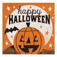 "Creative Converting 48-Pack ""Happy Halloween"" Beverage Napkins"