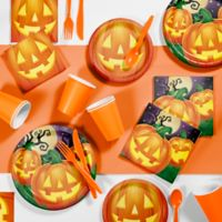 Creative Converting 81-Piece Halloween Pumpkin Party Supplies Kit