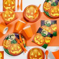 Creative Converting 81-Piece Halloween Pumpkin Party Supplies Kit