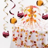 Creative Converting 8-Piece Thanksgiving Decoration Kit