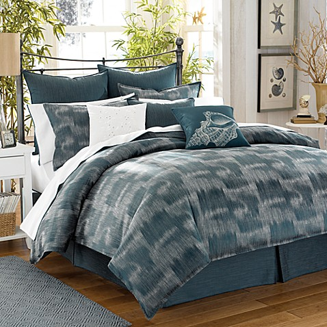 Tommy Bahama 174 Home Indigo Ombre Comforter Set Bed Bath