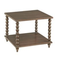 Madison Park Signature Beckett Square Coffee Table in Morocco Brown