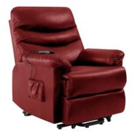 ProLounger® Power Lift Wall Hugger Recliner in Burgundy