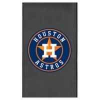 MLB Houston Astros Faux Leather Logo Panel