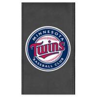 MLB Minnesota Twins Faux Leather Logo Panel
