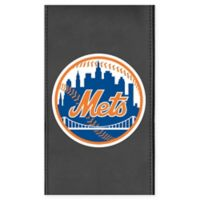 MLB New York Mets Faux Leather Logo Panel
