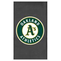 MLB Oakland Athletics Faux Leather Logo Panel