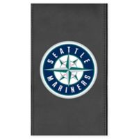 MLB Seattle Mariners Faux Leather Logo Panel