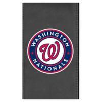 MLB Washington Nationals Faux Leather Logo Panel