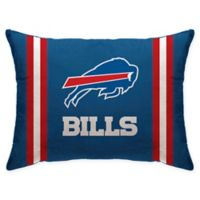 NFL Buffalo Bills Plush Standard Bed Pillow
