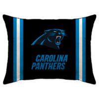 NFL Carolina Panthers Plush Standard Bed Pillow