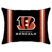NFL Cincinnati Bengals Plush Standard Bed Pillow