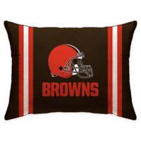 NFL Cleveland Browns Plush Standard Bed Pillow