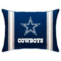 NFL Dallas Cowboys Plush Standard Bed Pillow