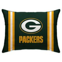 NFL Green Bay Packers Plush Standard Bed Pillow