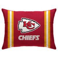 NFL Kansas City Chiefs Plush Standard Bed Pillow