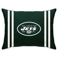 NFL New York Jets Plush Standard Bed Pillow