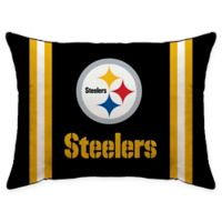 NFL Pittsburgh Steelers Plush Standard Bed Pillow