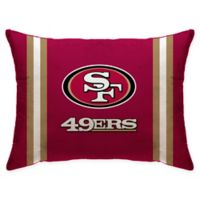 NFL San Francisco 49ers Plush Standard Bed Pillow